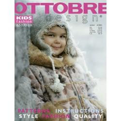 Časopis Ottobre design - 2003/4, Kids, zimní vydání - obálka