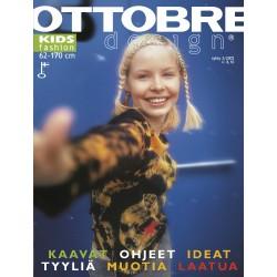 Časopis Ottobre design - 2002/3, Kids, podzimní vydání - obálka