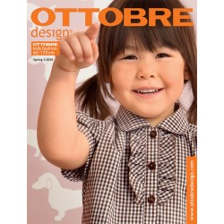 Časopis Ottobre design - 2010/1, Kids, jarní vydání - obálka