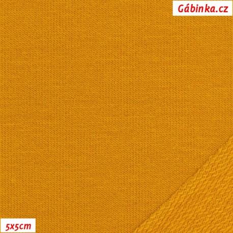 Teplákovina s EL - Hořčicová 1844, 5x5 cm