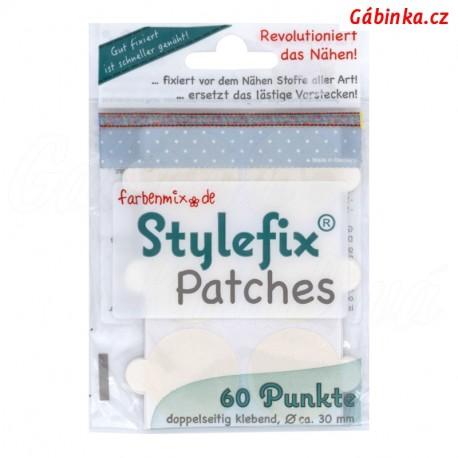 Oboustranně lepící kolečka Stylefix Patches, průměr 3 cm, 60 ks