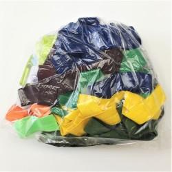 Balíček zbytků - Lemovací gumy půlené, 0,3-0,95 m