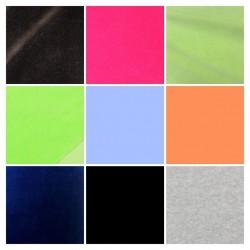 Kojenecký plyš TOP Q - MIX barev, šíře 180 cm, celkem 48,85 m, ATEST 1