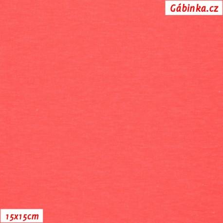 Úplet BA-PES-EL, C - NEON růžový 5001, 200 g, 15x15 cm