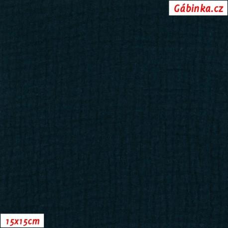 Fáčovina dvojitá - tmavě modrá, 15x15 cm