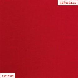 Úplet s EL, B - Červený 245, 260 g, šíře 180 cm, 10 cm, ATEST 1