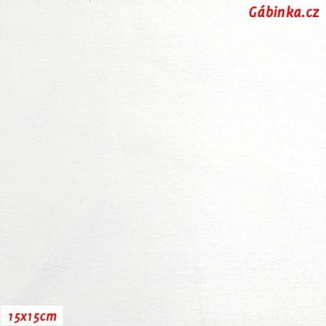 Úplet s EL, B - Bílý 2372, 15x15 cm