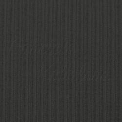 Náplet žebrovaný, tm. šedý, A-2184, šíře 100 cm, 10 cm, ATEST 1