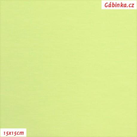 Úplet s EL, B - Světle zelenožlutý 863, 15x15 cm