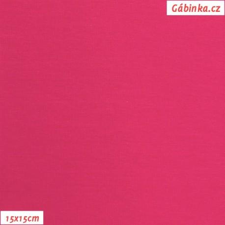 Úplet s EL, B - Malinový 0330, 15x15 cm