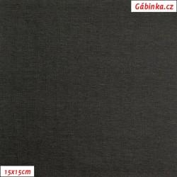 Úplet s EL, B - Tmavě šedý 2184, 260 g, šíře 180 cm, 10 cm, ATEST 1