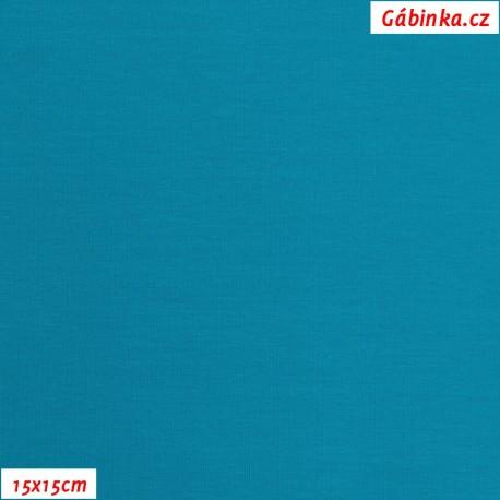 Úplet s EL, B - Tyrkysově modrý 0615, 15x15 cm