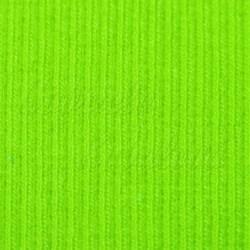 Náplet žebrovaný, jasně zelený, A-0844, šíře 100 cm, 10 cm, ATEST 1