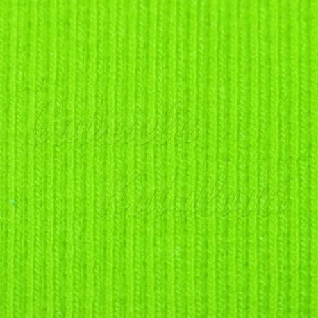 náplet, žebrovaný, světle zelený