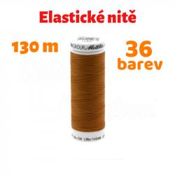 Elastická nit - Mettler SERAFLEX 120 PTT, 130 m, ATEST 1
