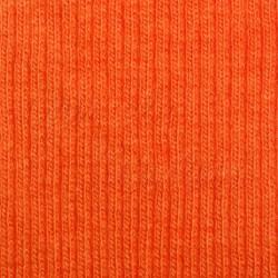 Náplet žebrovaný, B - oranžový 0117, šíře 100 cm, 10 cm, ATEST 1