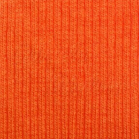 náplet žebrový, oranžový