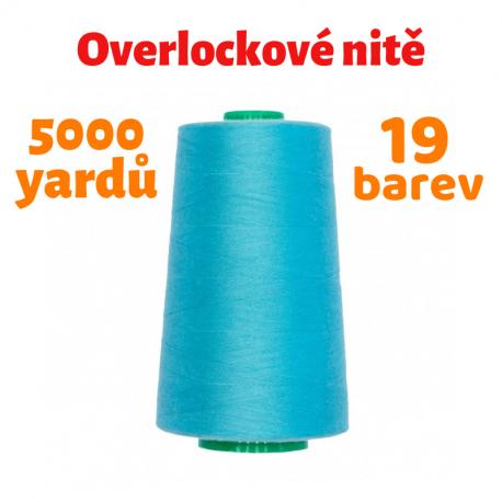 Overlockové nitě - Balerina 40/2 120 PES, 5000 yardů