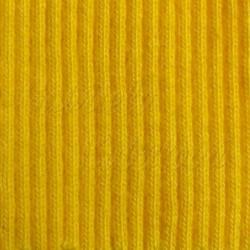 náplet žebrový, žlutý