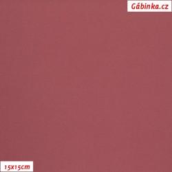 Micropeach - Tmavě starorůžový 340, šíře 148 cm, 10 cm