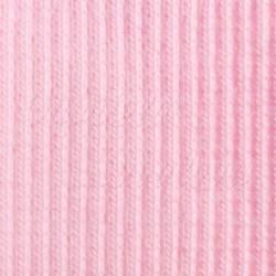 Náplet žebrovaný, světle růžový, A-0272, šíře 100 cm, 10 cm, ATEST 1