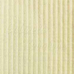 Náplet žebrovaný, smetanový, A-0971, šíře 100 cm, 10 cm, ATEST 1