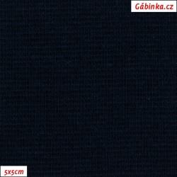 Náplet hladký 1:1 tunel, A - temně modrý 1024, 5x5 cm