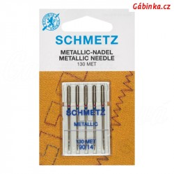 Jehly Schmetz - METALLIC 130 MET, 90-14, 5 ks