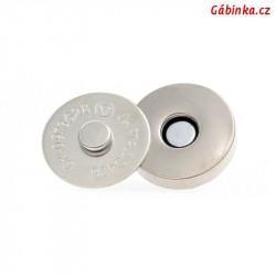 Magnetické zapínání - kulaté, průměr 18 mm