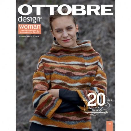 Časopis Ottobre design - 2020/5, Woman, podzim/zima - titulní strana