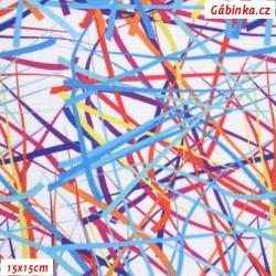 Kočárkovina Primax, Barevné konfety, šíře 160 cm, 10 cm