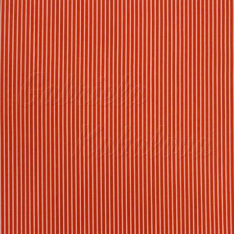 plátno, proužky, červené, detail