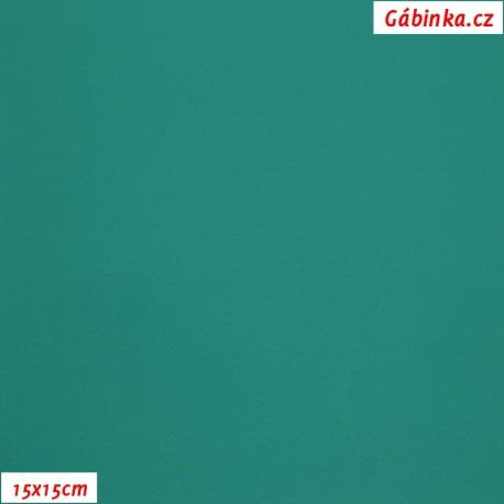 Koženka SOFT 47 - Zelená, 15x15 cm