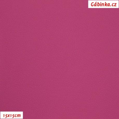 Koženka SOFT 46 - Růžová, 15x15 cm