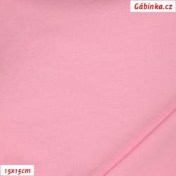 Úplet s EL, C - Světle růžový 07, 190 g, šíře 180 cm, 10 cm, ATEST 1