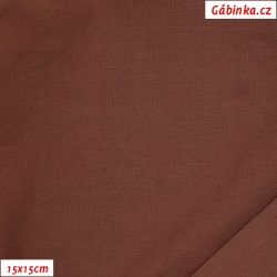 Úplet s EL, B - Čokoládově hnědý 2066, 260 g, 15x15 cm