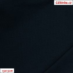 Úplet s EL, C - Tmavě modrý 18, 190 g, šíře 180 cm, 10 cm, ATEST 1