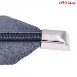 Koncovka na zip se šroubkem 10x14 cm, 1 ks
