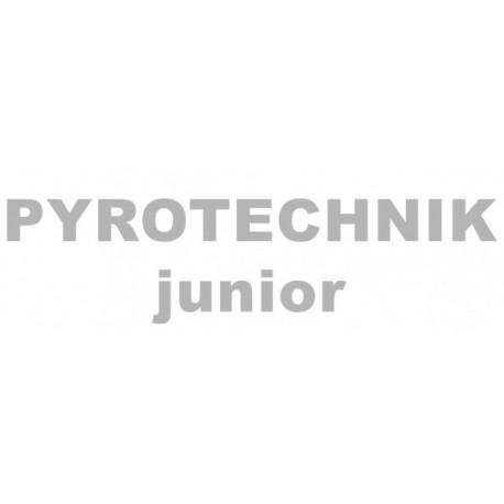 Reflexní nažehlovací potisk - Pyrotechnik junior (1 ks)