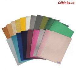 Vzorník - Koženky SOFT LESK 20 barev