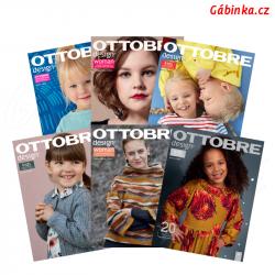 Časopis Ottobre design 2020 - 20 YEAR ANNIVERSARY, anglicky, celý ročník, 6 ks, 1 balení