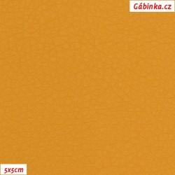 Koženka SOFT 243 - Medová, 5x5 cm