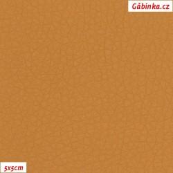 Koženka SOFT 12 - Karamel, 5x5 cm