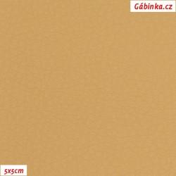 Koženka SOFT 6 - Smetanová/tělová, 5x5 cm