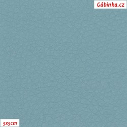 Koženka SOFT 122 - Šedomodrá, 5x5 cm