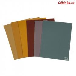 Vzorník koženek SOFT doplnění z L2 na L3 - prosinec 2020, 6 barev, 1 ks