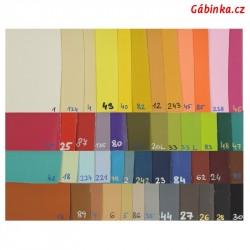 Vzorník koženek SOFT L3 - prosinec 2020, 48 barev, 1 ks