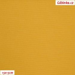 Kočárkovina MAT 840 - Hořčicová, šíře 160 cm, 10 cm, ATEST 1