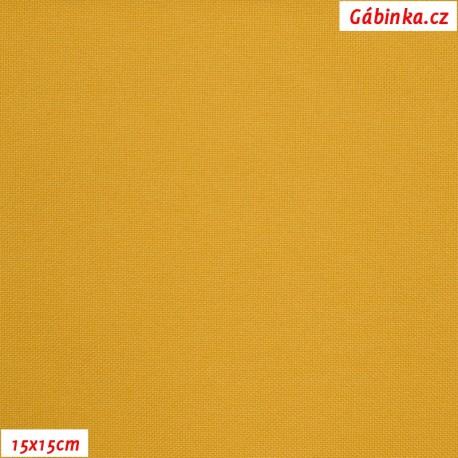 Kočárkovina MAT 840 - Hořčicová, 15x15 cm