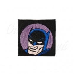 Nažehlovačka Batman, hlava na fialové